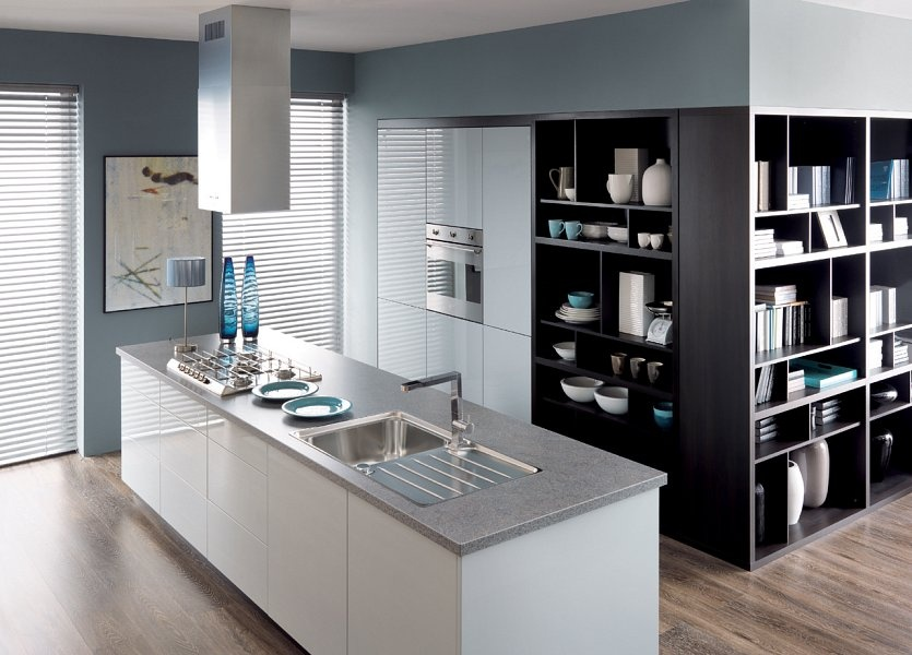 38th elysee avenue  Capital  BRW Modern Kitchens   -> Projekt Kuchni Black Red White